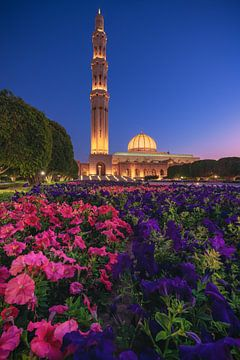 Sultan Qaboos Moschee in Muskat von Jean Claude Castor