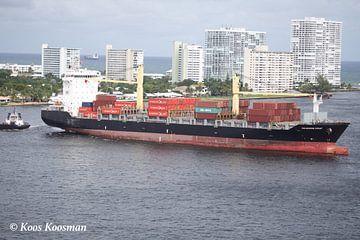 Container Schip van Koos Koosman