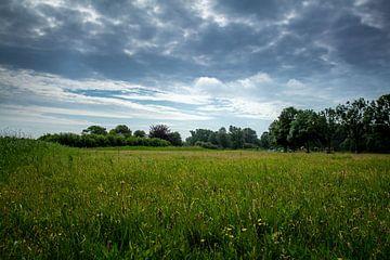 Landschaft mit bewölkt luft von Jaap Mulder