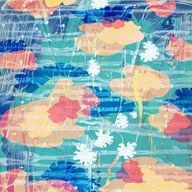 Drijvende bloemen van ART Eva Maria