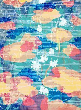 Schwimmende Blumen von ART Eva Maria