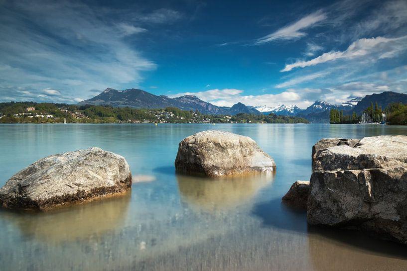 Lake Luzern van Ilya Korzelius