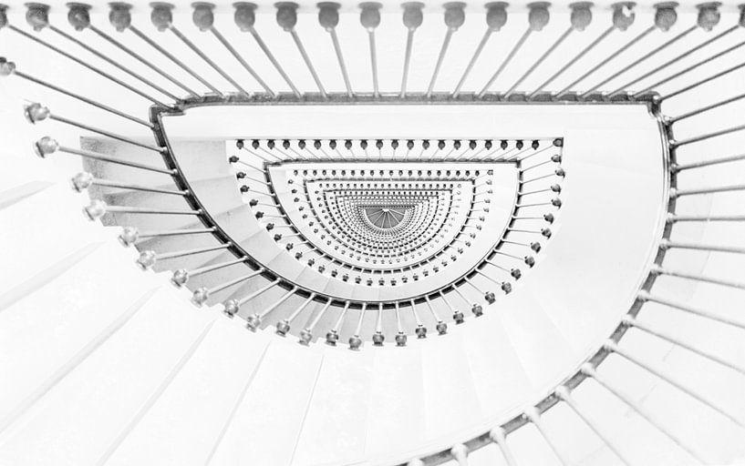 Stairs American memorial van Frans Deeders