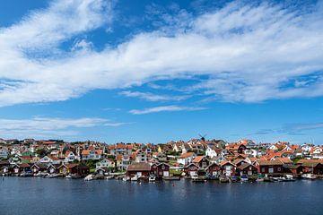 Blick auf den Ort Fiskebäckskil in Schweden von Rico Ködder