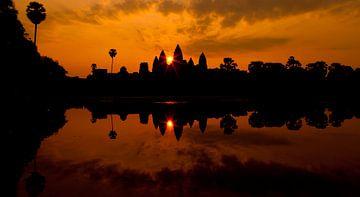 Angkor wat sur Mike van den Brink