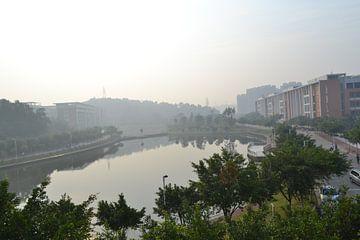 Guangzhou college grounds von Simone van der Heide