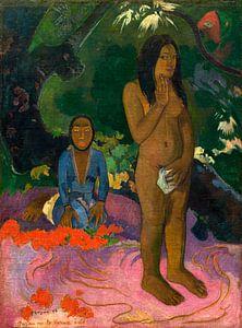Parau na te Varua ino (Woorden van de Duivel), Gauguin