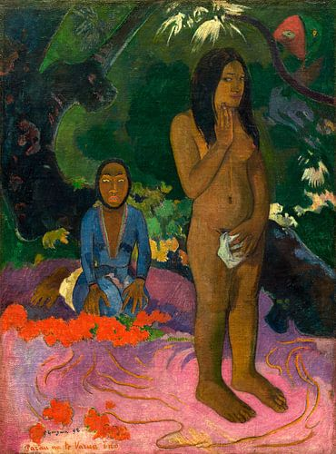 Parau na te Varua ino (Worte des Teufels), Gauguin  von Liszt Collection