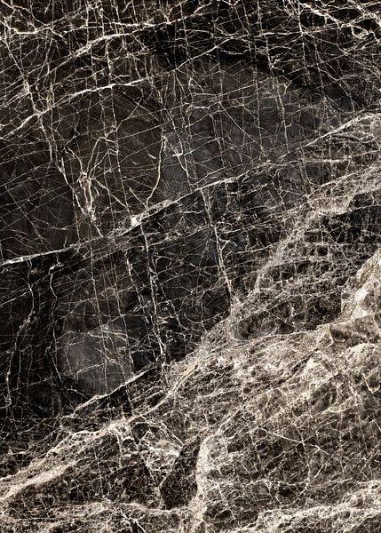 ABSTRACT BLACK & WHITE v1 van Pia Schneider