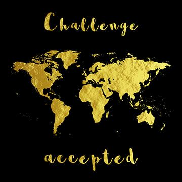 Challenge Weltkarte Student Studieren Geschenk sur Felix Brönnimann