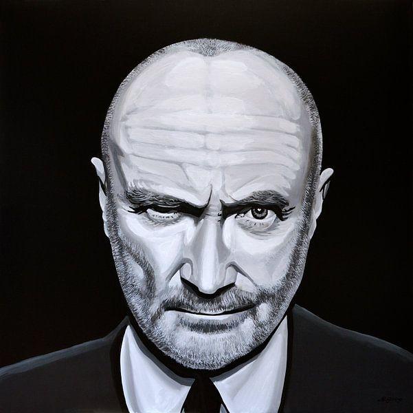 Phil Collins Malerei von Paul Meijering