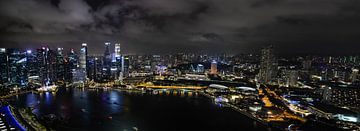 Singapur Skyline von Robert Styppa