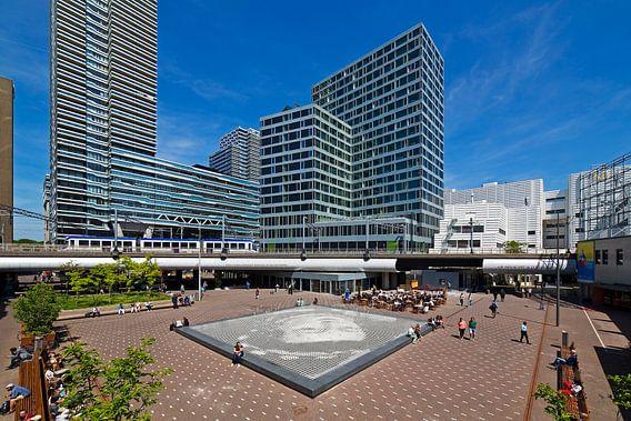 Anna van Buerenplein in Den Haag  van Anton de Zeeuw