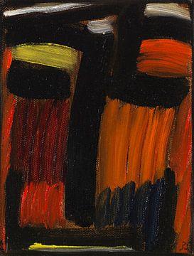 Meditatie, Alexej von Jawlensky, 1935 van Atelier Liesjes