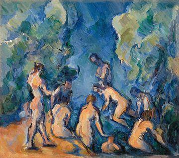 Badegäste und Badende, Paul Cézanne (ca. 1902-1904)