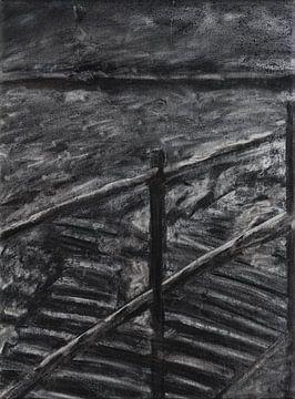 Auf der Treppe von Katrijn Van Bree
