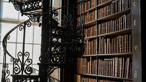 Trap in Trinity College Bibliotheek van Terry De roode