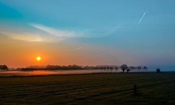 Koude zonsopkomst van Victor Droogh