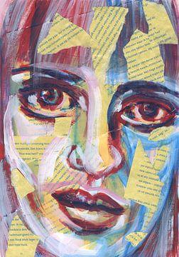 Portrait von vielen Worten von ART Eva Maria