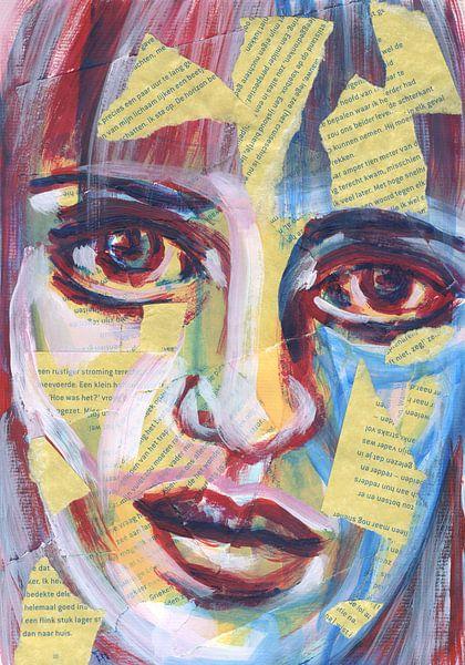 Portret van veel woorden van Eva van den Hamsvoort