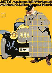 Audi Automobilplakat, Ludwig Hohlwein - 1912