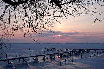 Morgenstimmung am Steg von Ostsee Bilder