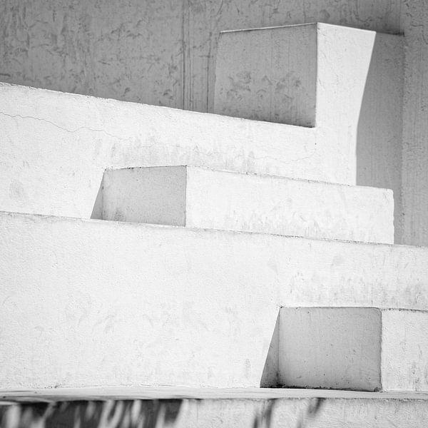 Treden in Zwart wit van Pieter Bosch
