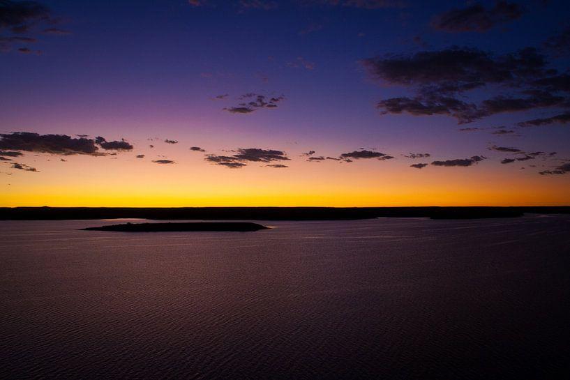 Zonsondergang Namibië van Studio Wanderlove