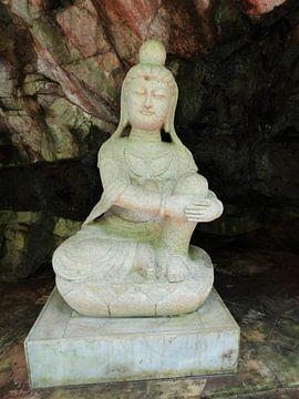 Maleisie tempelbeeld van Bianca Louwerens