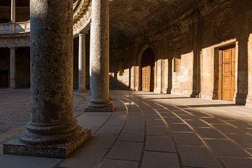 Paleis van Karel V - Alhambra van Jack Koning