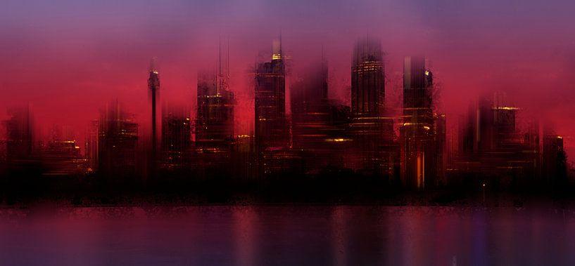 City-Art SYDNEY IV van Melanie Viola