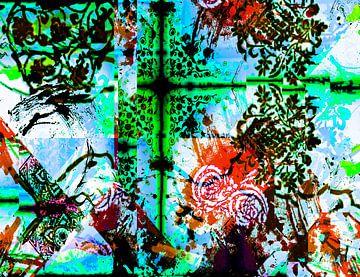 Abstrakt pattern sur Rosi Lorz