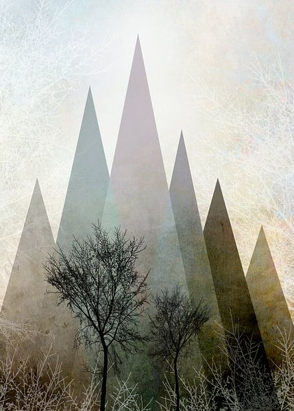 TREES IV Portrait-2 van Pia Schneider