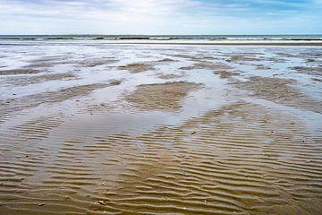 Ebbe und Flut am Strand von Ameland