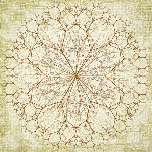 Mandala, getekend