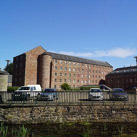 Stanley Mills est une ancienne usine textile de fabrication située dans le village écossais de Stanl sur Babetts Bildergalerie