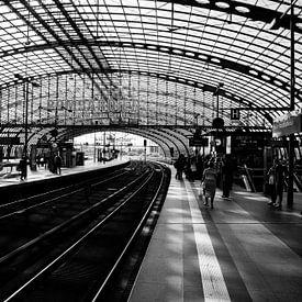 Hauptbahnhof Berlijn van Jurgen Corts