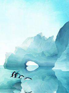 Duik van de Pinguïns van