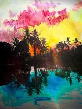 jungle in Maleisie van Marcel van Berkel