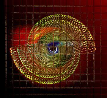 Illuminated helix #4 van Leopold Brix