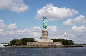 Vrijheidsbeeld op Liberty Island  van Gerrit de Heus