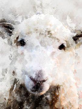 schapen van Printed Artings