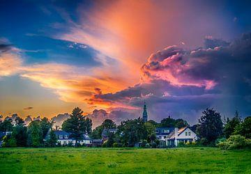 Sommergewitterwolke von Peet Romijn
