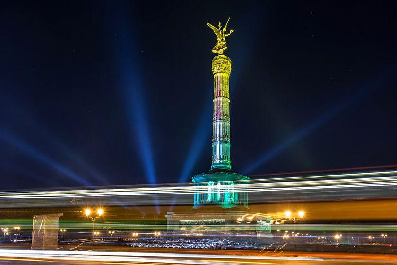 La colonne de la victoire à Berlin sur Frank Herrmann