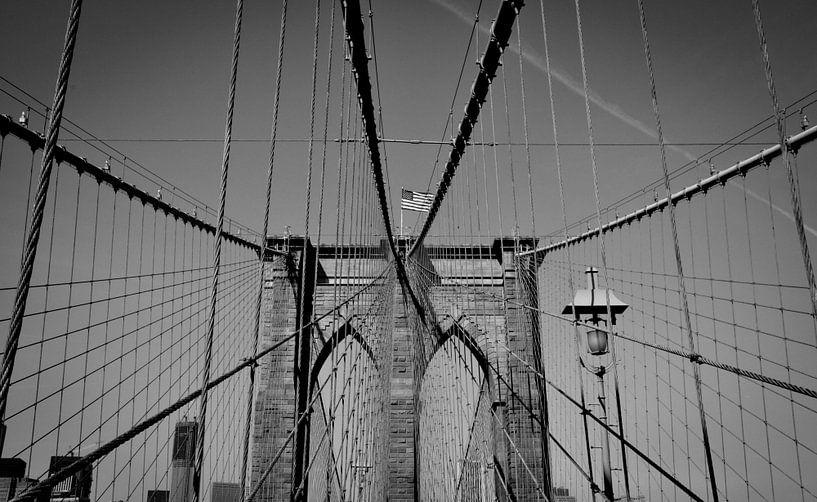 Brooklyn bridge van Erik Wennekes