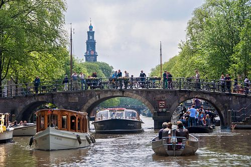 Vaartocht over de Amsterdamse grachten