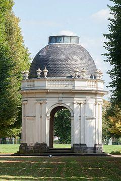 Grote Tuin Herrrenhausen, Tempel Remy de La Fosse, Hannover, Nedersaksen, Duitsland van Torsten Krüger