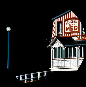 Badresort in Saint Cast van Harrie Muis