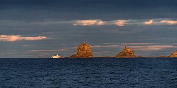 Punta Fariones- het meest noordelijke puntje van Lanzarote in het avondlicht von Harrie Muis