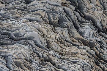Patronen en vormen in een Rotsblok van Daan Kloeg